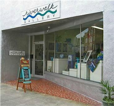 Riverwalk Gallery greets you