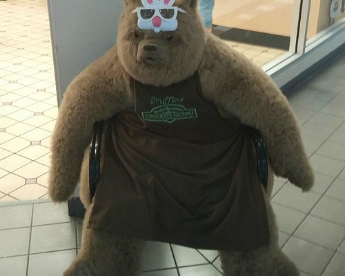 Bear outside their store!!