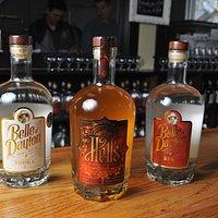 Belle Vodka, Hell's Vodka, 1775 Colonial Rum