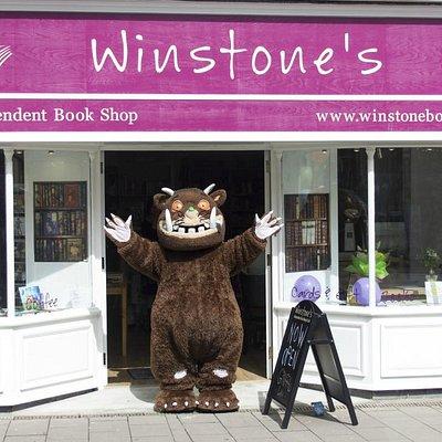 The Gruffalo at Winstone's Sidmouth!