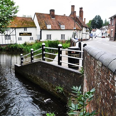 River Lea and Wheathampstead High Street
