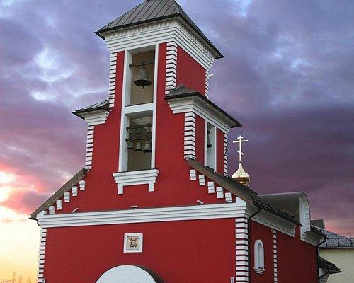 Храм Александра Невского 7 апреля 2015 г. (за неделю до освящения)