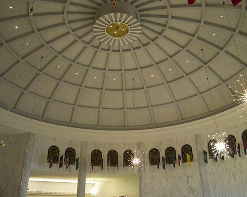 inside rotunda