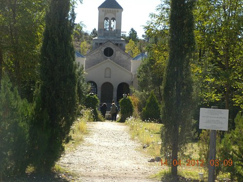 frente del monasterio