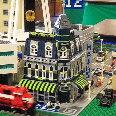 12th Man Lego Building