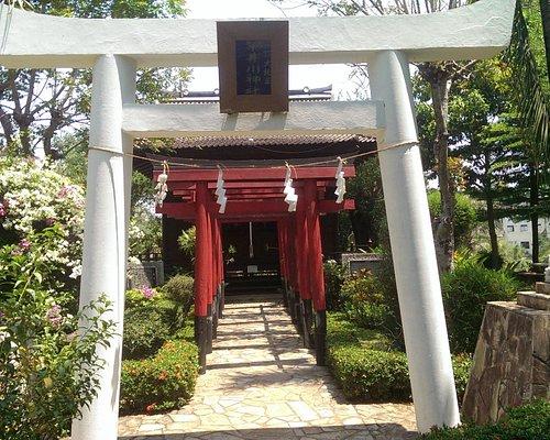 Typische japanische Tore