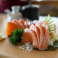 Fresh Sashimi - what could be better on a summers day