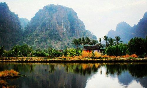 Desa yang tenang