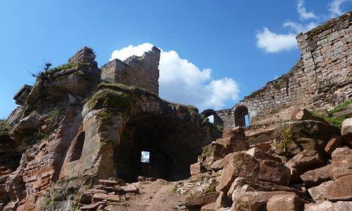 intérieur chateau