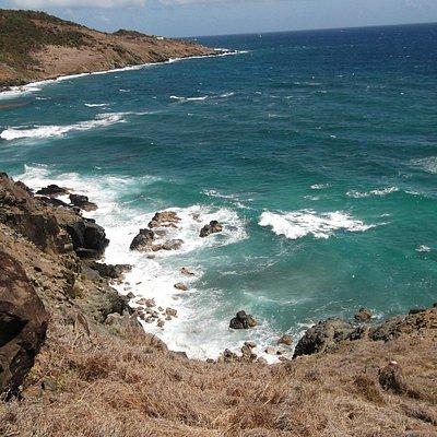 la pointe du départ Guana Bay