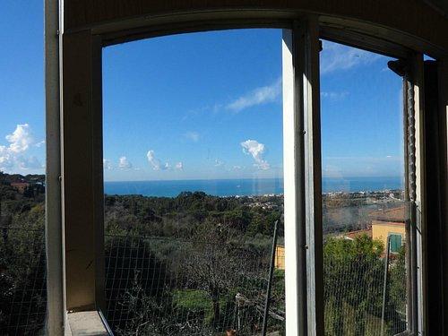 Funicolare di Montenero - a view from the car