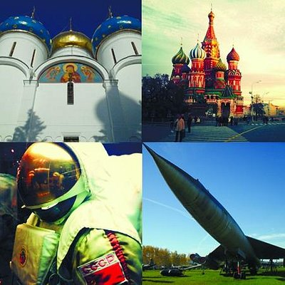 Central Air Force Museum Tour, Space Tour, St. Sergius Trinity Lavra Tour, Kremlin Tour
