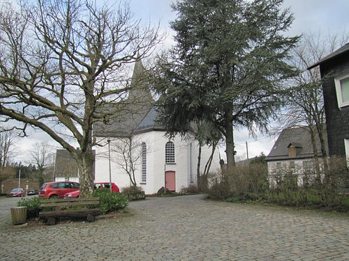 outside of the church