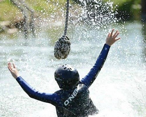 Zip Line Splash