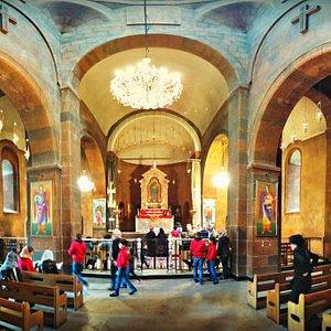 Saint Hovhannes Church (St. John the Baptist Church) in the Kond neighborhood of Yerevan, Armeni