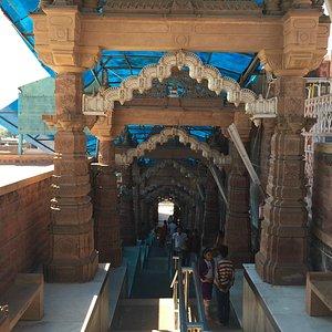 View of Osian Sun Temple