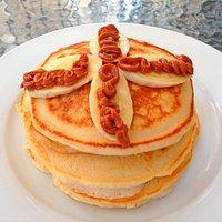 real fluffy homemade pancakes