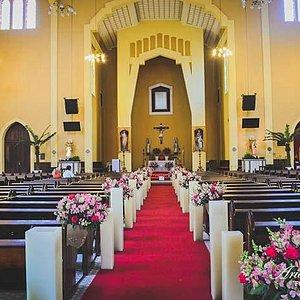 Interior do Santuário.