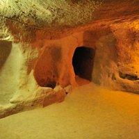Città sotterranea Saratli