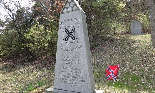 Troop monument