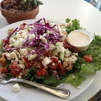 The chopped salad, full of good things!