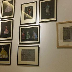 Opera costume designs by Sanso