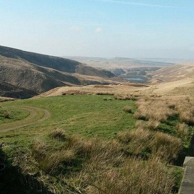 Up on marsden moor looking across the moors. Peace and quiet. Perfect tranquillity
