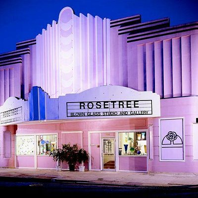 Repurposed 1940 Art Deco movie theater