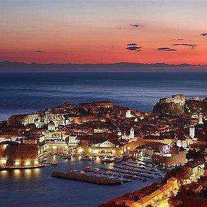 Dubrovnik night photo!