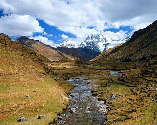 Stunning alpine meadows in the famous Cordillera Huayhuash