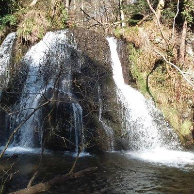 waterfall in Fairy Glen
