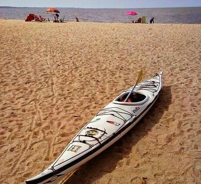 Caiaque e Praia do Laranjal