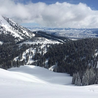 View from Upper Columbia over Teton Pass