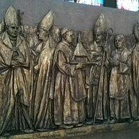 Interno del Santuario Santa Maria di Valleverde