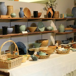 A section of the handmade pieces for sale