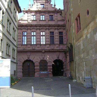 Rathaus Wurzburg, Würzburg, Alemania.