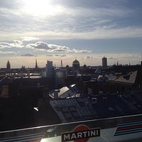 Beautifull rooftop terrace/view