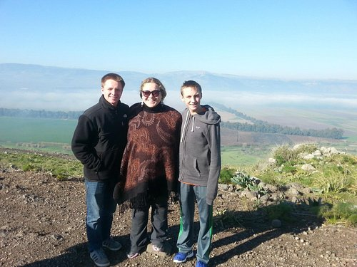 A glorious day inthe Golan Heights.