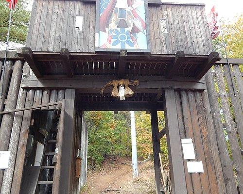 砥石城の門(近年作られた物です)