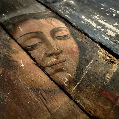Pinturas do Padre Jesuíno do Monte Carmelo do final do século XVIII encontradas em 2014.