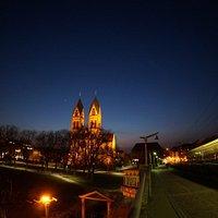フライブルク駅から徒歩5分くらいの場所にある教会