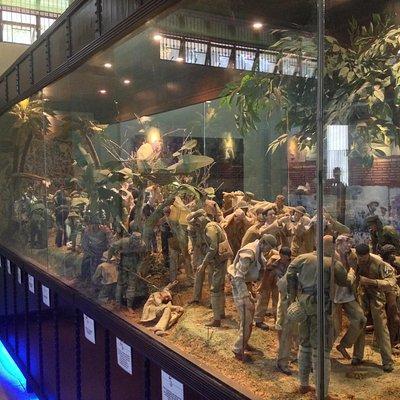 Bataan Death March Diorama