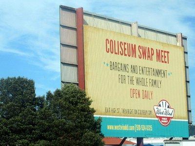 Coliseum Swap Meet- West Wind Coliseum Public Market, Oakland, Ca
