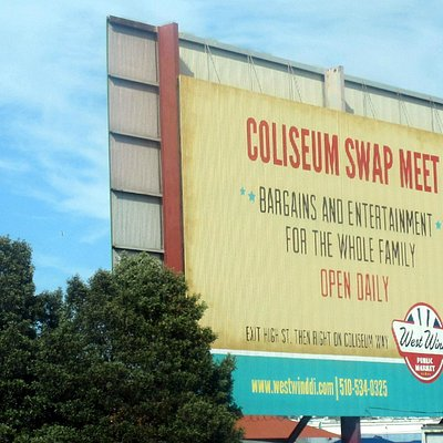 Coliseum Swap Meet- West Wind Coliseum Public Market, Oakland, Ca
