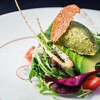 Green salad with Pecorino cheese