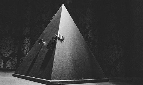Inside the pyramids