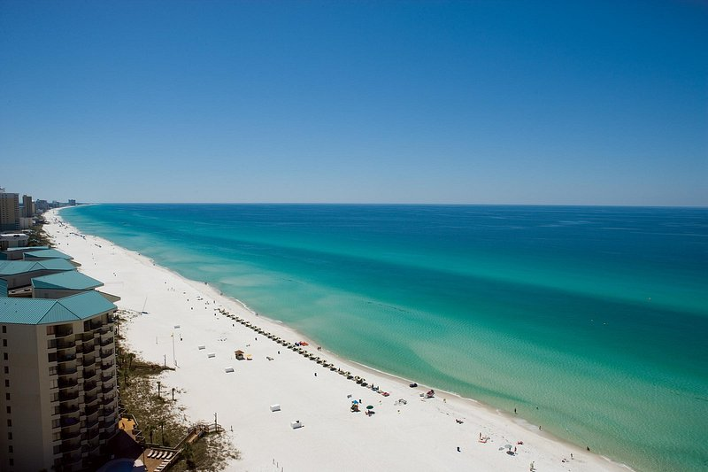27 miles of coastline in Panama City Beach