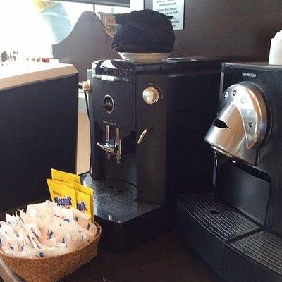 La máquina de café
