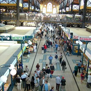 Budapest's Central Market Hall