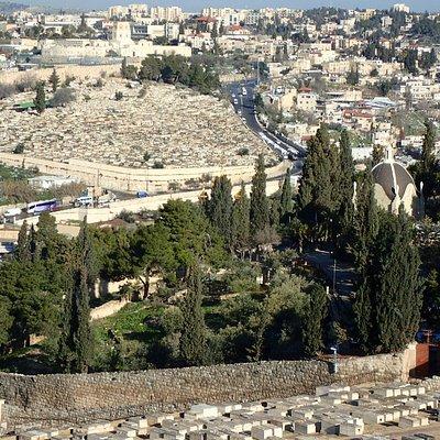 Jesus walked through the Kidron Valley many times